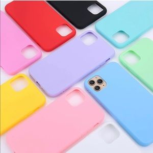 Pink Silicone iPhone 11 Pro Max Phone Case